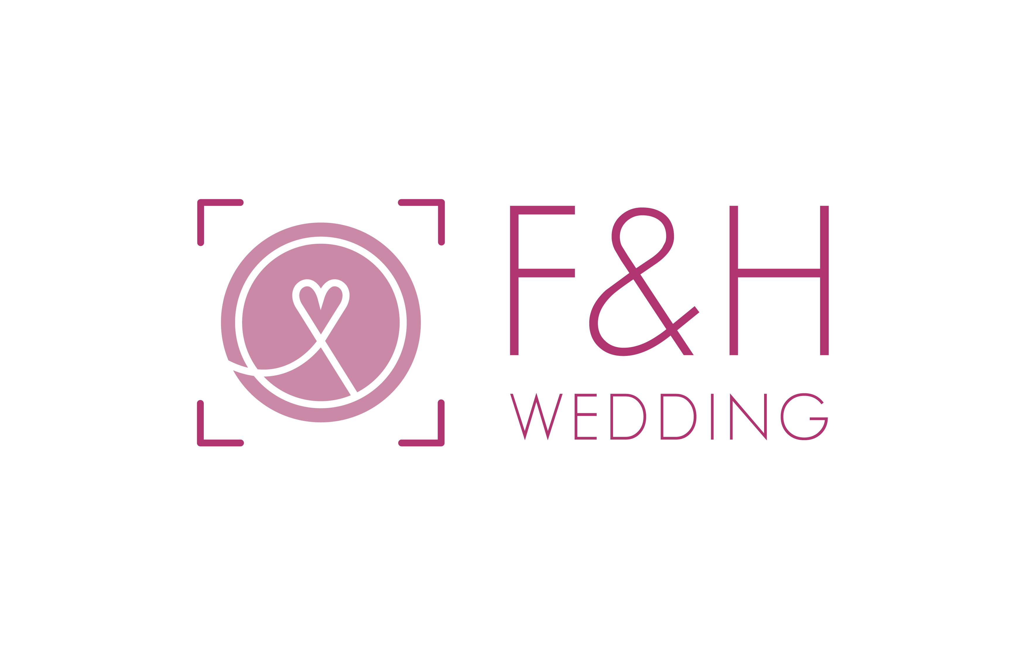 FH wedding Logo barevne 01